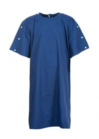 Bariatric Gown With Neck And Shoulder Studs